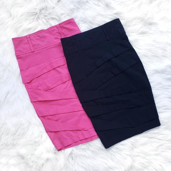 3/20$ - SEDUCTIONS - Women's 2 Pencils Skirts - XS